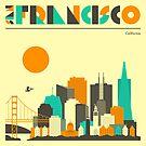 SAN FRANCISCO SKYLINE by JazzberryBlue