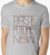 The Only Time is Now Men's V-Neck T-Shirt