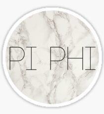 PI PHI Sticker
