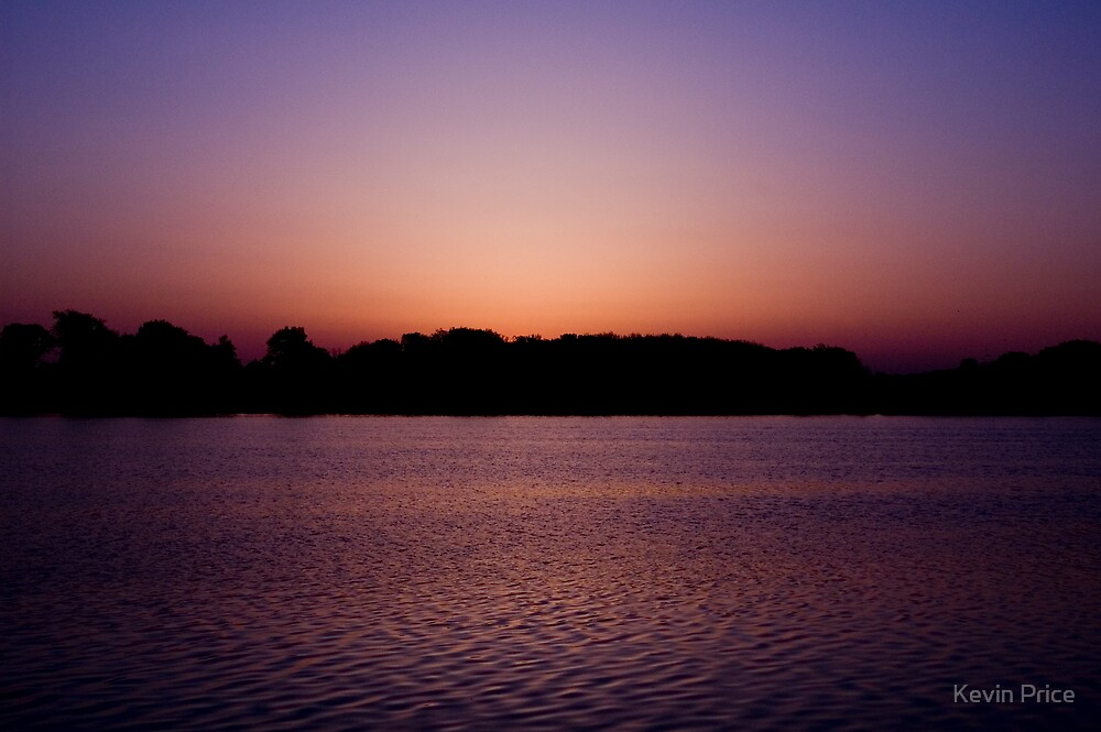 Sunrise over Lake Bloomington by Kevin Price