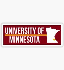 University of Minnesota - Style 22 Sticker