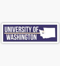 University of Washington - Style 22 Sticker