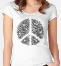 Peace Naturalis Women's Fitted Scoop T-Shirt
