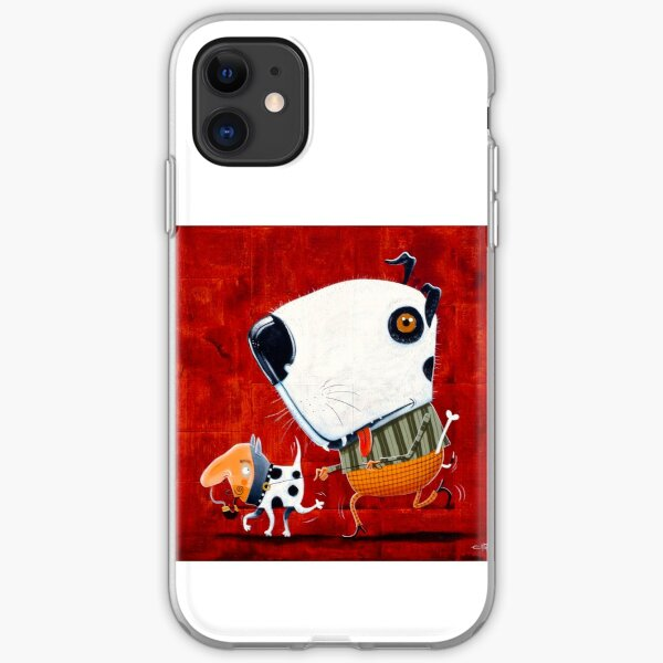 Who's walking who? iPhone Soft Case