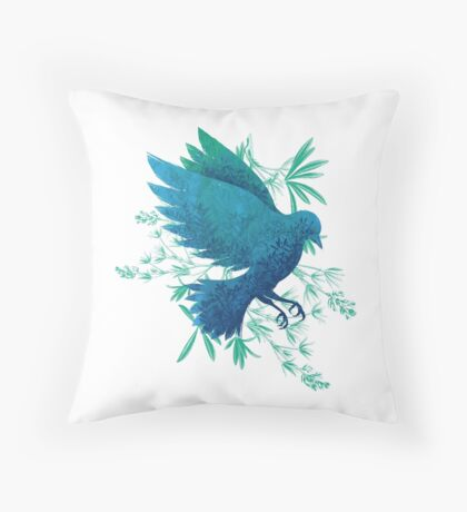 Birdy Bird Throw Pillow