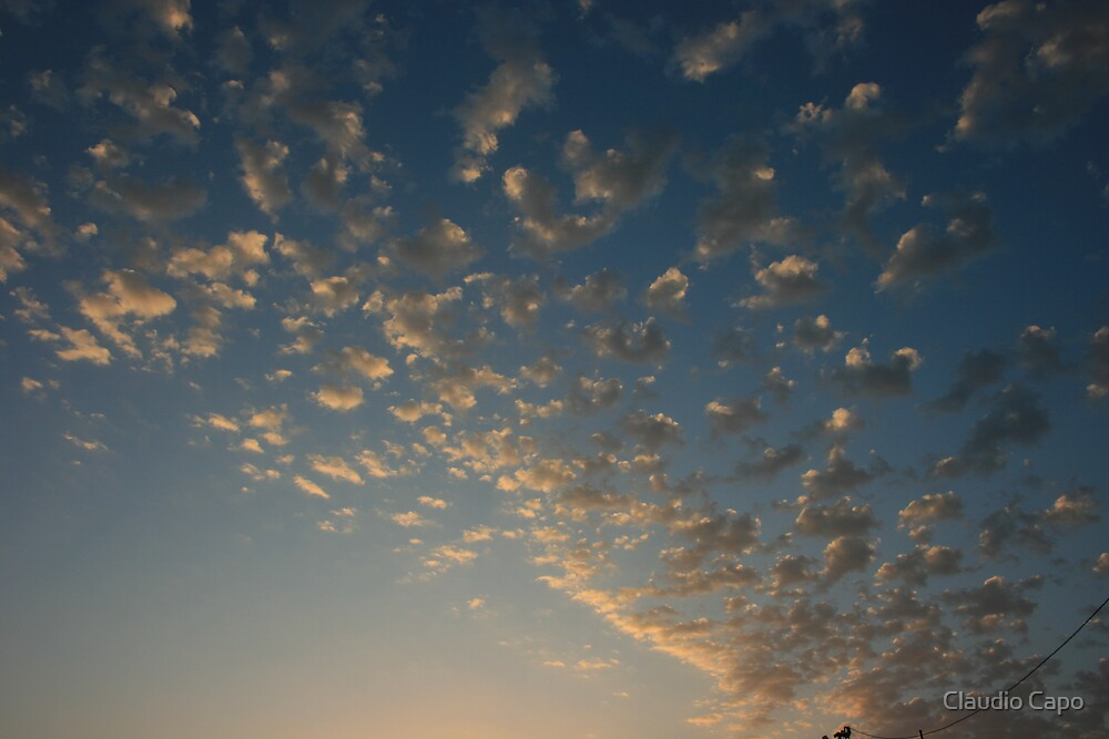 Fluffy Clouds by Claudio Capo