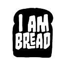 I am Bread 'mono' logo - Official Merchandise by BossaStudios