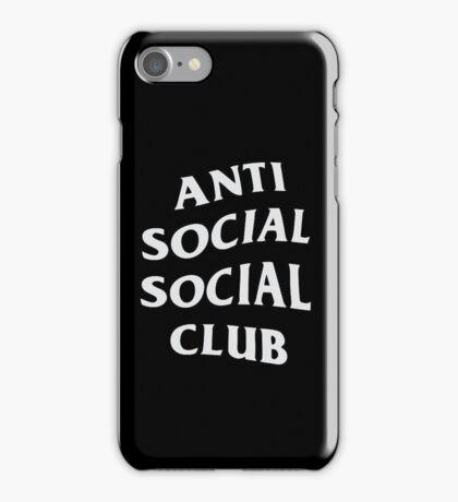 ASSC Gift - Anti Social Social Club iPhone Case/Skin