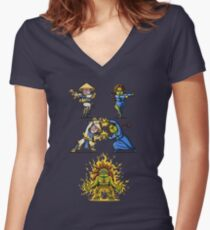 Fusion Women's Fitted V-Neck T-Shirt