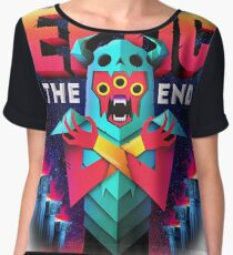 EPTIC - THE END EP COVER Chiffon Top