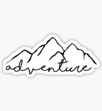 Adventure- sticker Sticker