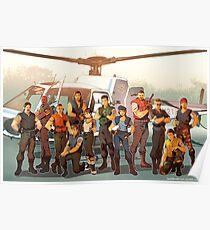 Resident Evil- STARS Poster