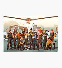 Resident Evil- STARS Photographic Print