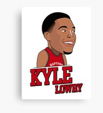 kyle lowry Canvas Print