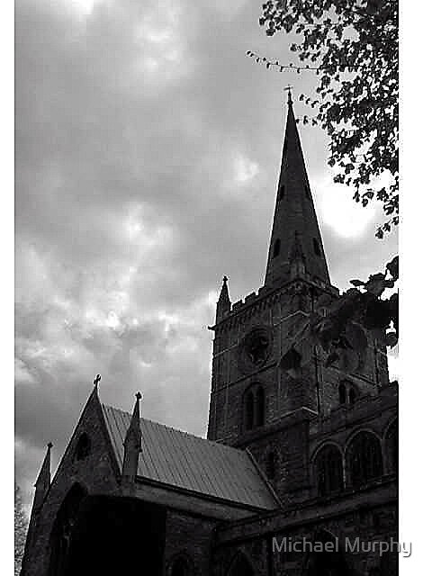 English Church by Michael Murphy