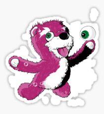 Breaking Bear Sticker