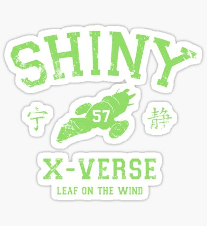 Shiny XV Team (green variant) Sticker