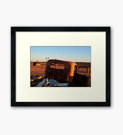 Old Andado Station Simpson Desert Framed Print