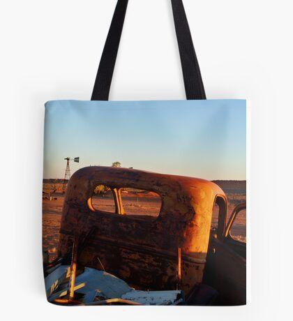 Old Andado Station Simpson Desert Tote Bag