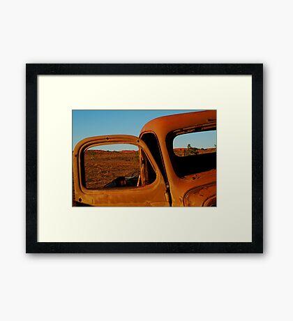 Historic Old Andado,N.T. Framed Print