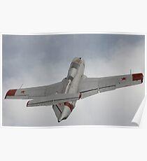 Military jet Poster