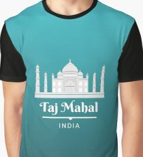 Taj Mahal India Graphic T-Shirt