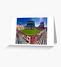 OU Old Stadium Greeting Card
