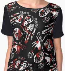 DIEhard horror Women's Chiffon Top