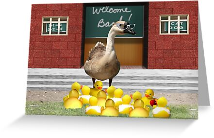 Back to School, my little rubber duckies! by Gravityx9