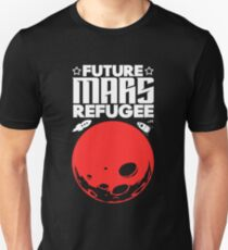 Mars: T-Shirts | Redbubble Future Mars Refugee mars planet T-Shirt
