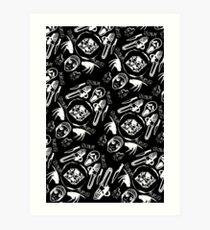 DIEhard horror (Variant) Art Print