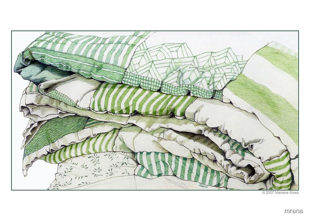 Green Comfort by Mariana Musa