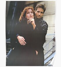 Scully and Mulder / X-Files Poster