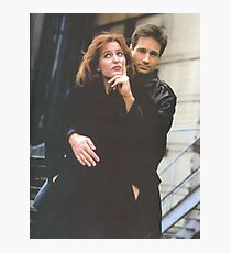 Scully and Mulder / X-Files Photographic Print