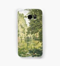 Henri Biva,  Water lilies on the Marne at Creteil Samsung Galaxy Case/Skin