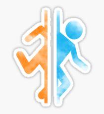 Minimalist Portal Watercolour Sticker