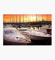 Yacht Marina Photographic Print