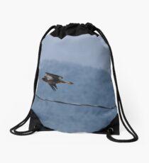 Juvenile Bald Eagle Drawstring Bag
