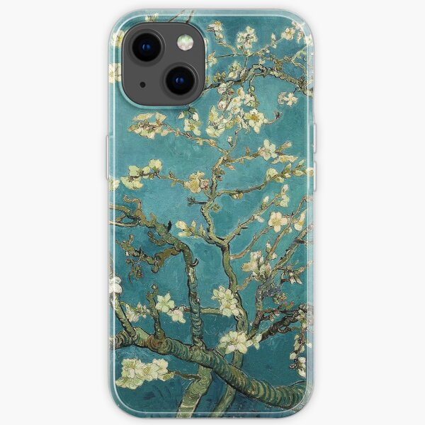 Blossoming Almond Tree, famous post  impressionism fine art oil painting by Vincent van Gogh.  iPhone Soft Case