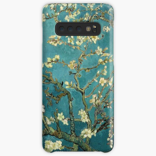 Blossoming Almond Tree, famous post  impressionism fine art oil painting by Vincent van Gogh.  Samsung Galaxy Snap Case