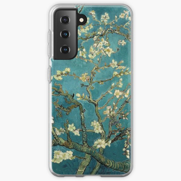 Blossoming Almond Tree, famous post  impressionism fine art oil painting by Vincent van Gogh.  Samsung Galaxy Soft Case
