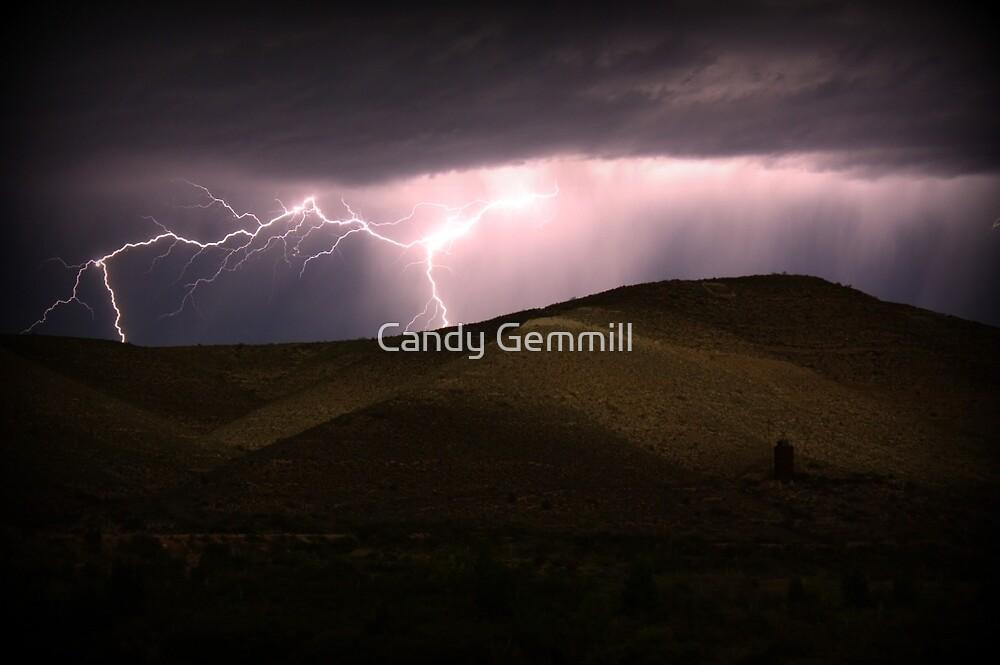 Lightning.... by Candy Gemmill