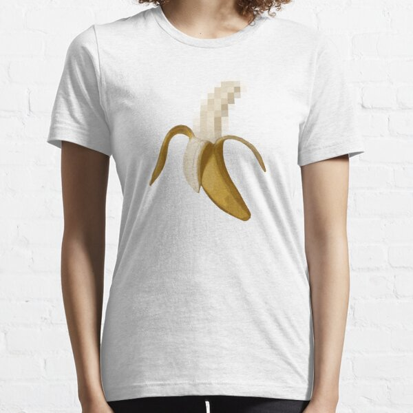 Dirty Censored Peeled Banana Essential T-Shirt