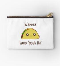 Wanna Taco 'Bout It? Studio Pouch