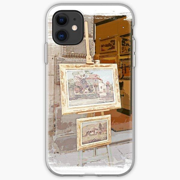 Tuscany. Italy. Cortona.  Art Gallery iPhone Soft Case