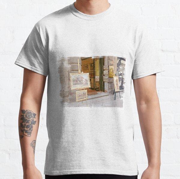 Tuscany. Italy. Cortona.  Art Gallery Classic T-Shirt