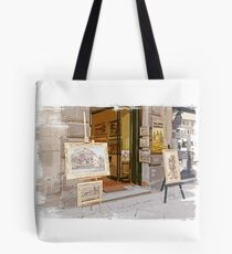 Tuscany. Italy. Cortona.  Art Gallery Tote Bag