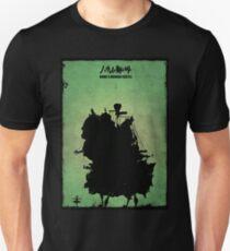 Howl's Moving Castle Inspired Print. T-Shirt