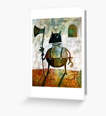 The executioner Greeting Card