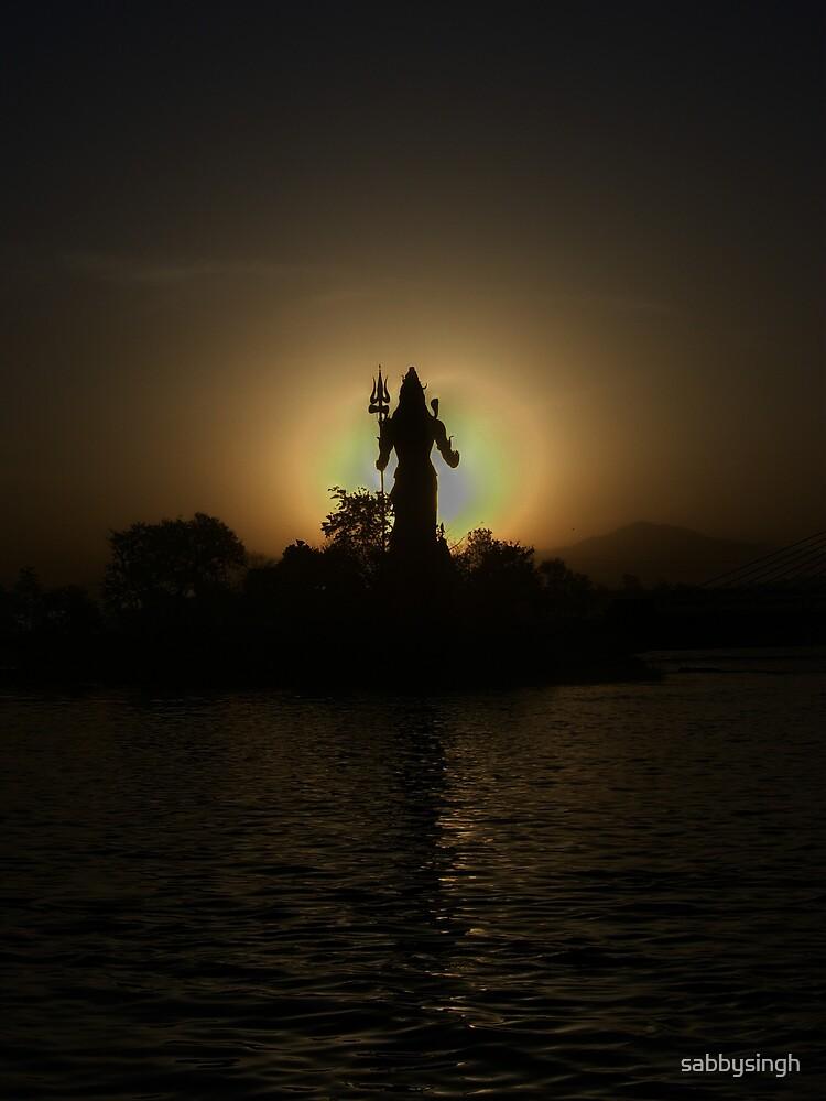 Lord Shiva by sabbysingh